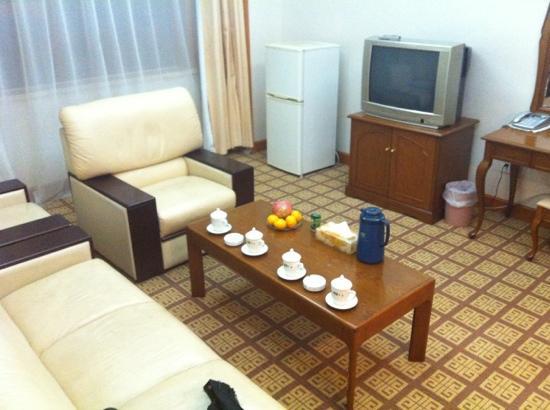 Dandong Hotel : 七号楼套房