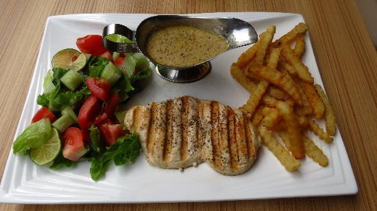 The Alley Restaurant: grilled chicken breast