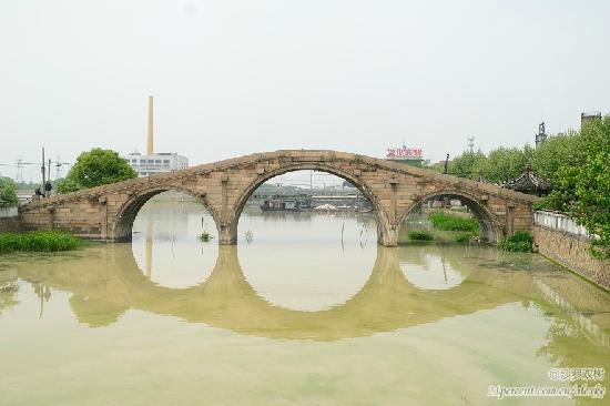 Huzhou Anlan Bridge: 桥体正视