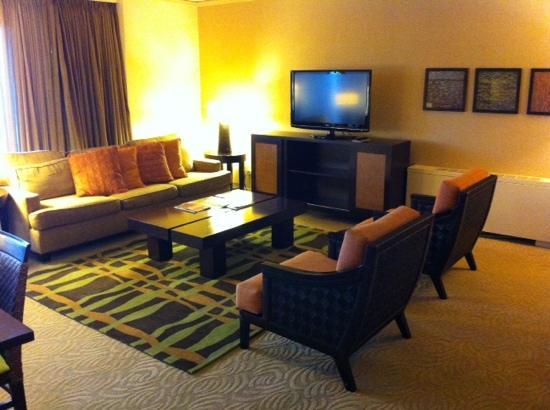 Sheraton Waikiki : 威基基喜来登酒店套房客厅