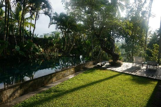 Chapung SeBali Resort and Spa: 别墅的泳池