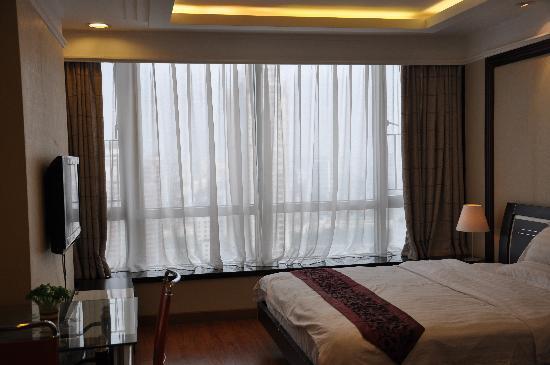 Sixiangjia Service Apartment Hotel Guangzhou Jinyuan: 落地大窗户