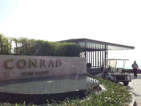 Conrad Koh Samui: 酒店