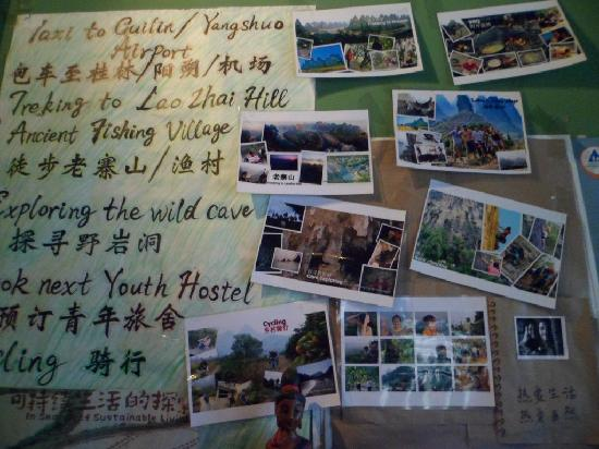 Xingping This Old Place Int'l Youth Hostel: 大厅的活动照片