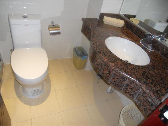 陕西省洛川县: 浴室