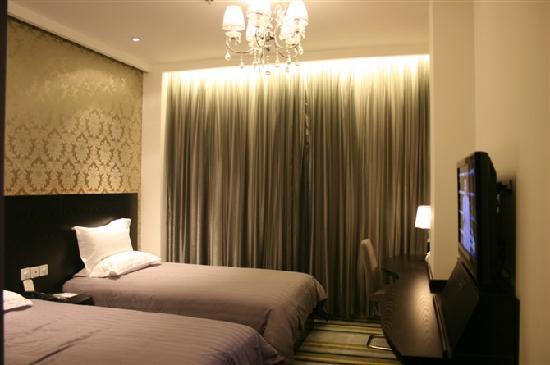 FX Hotel (Shijiazhuang Zhonghua) : 时尚双床房