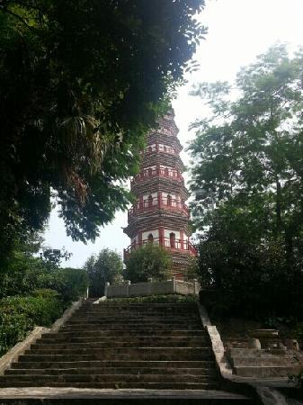 Zhongshan Fufeng Wen Tower: 文塔