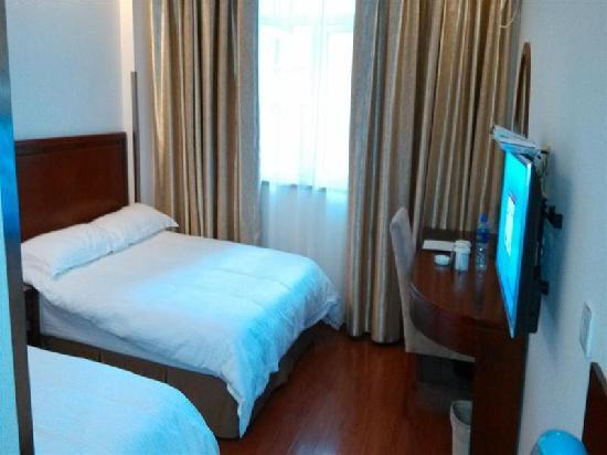 GreenTree Inn Shanghai Hongkou Football Stadium Lu Xun Park Shell Hotel: 客房