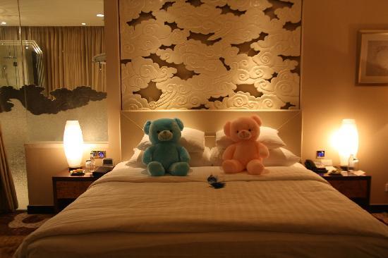 New Century Grand Hotel Beijing : 可爱的小熊
