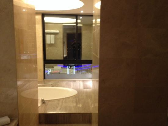 Four Points by Sheraton Taicang : 角房的卫生间很出彩