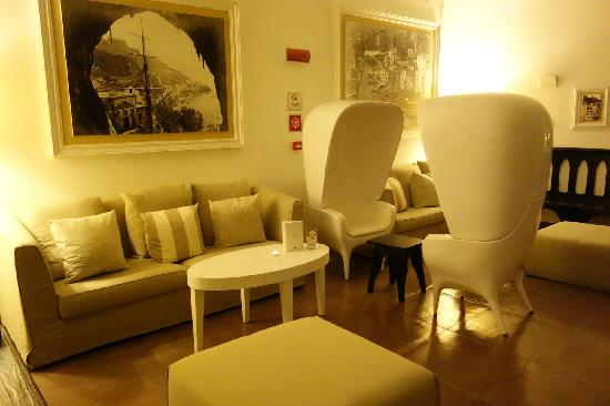 NH Collection Grand Hotel Convento di Amalfi : 7,大堂一角