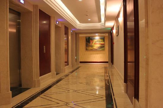 Xuanlong Apartment Hotel Hangzhou Xingguang Avenue : 电梯口
