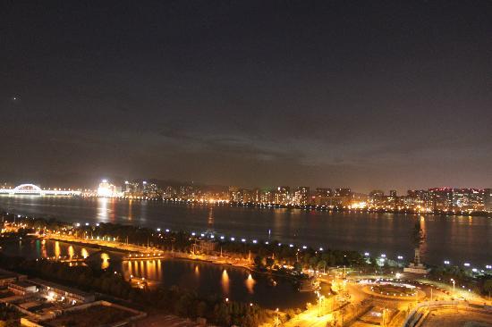 Xuanlong Apartment Hotel Hangzhou Xingguang Avenue : 钱塘江夜景