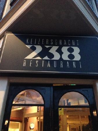 Keizersgracht 238: 门口
