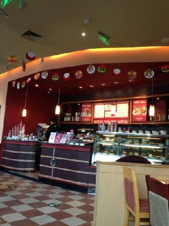 Costa coffee AiDeMengDun Lu Kai De GuangChang Dian