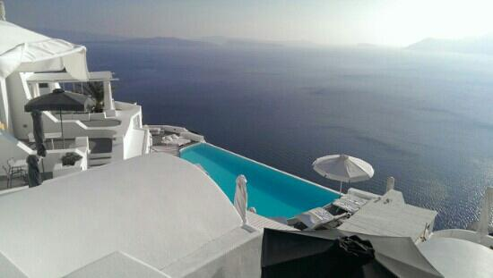 Katikies Hotel: 无变泳池