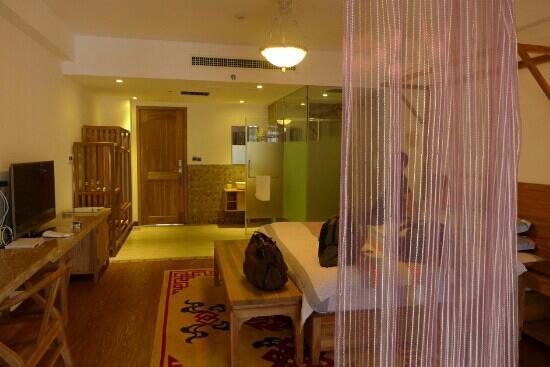 Guanshanyue Honeymoon Mansion: 进门内景
