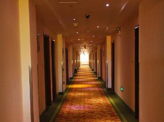 GreenTree Inn Tianjin Huayuan Guiyuan Road: 走廊