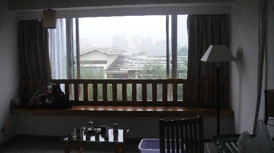 Qi Ming Xing Hotel: 窗口