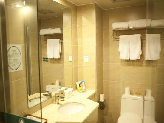 GreenTree Inn Tongxiang Puyuan Express Hotel : 浴室