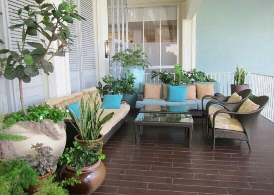 The Kahala Hotel & Resort : 大阳台
