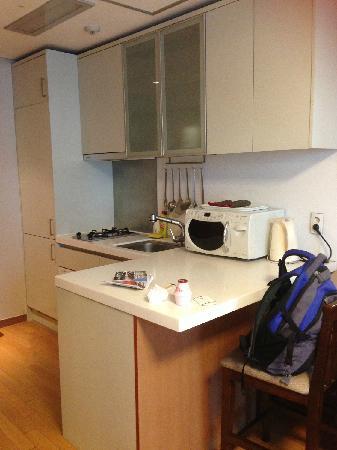 Hotel Atrium Vabien II : kitchen