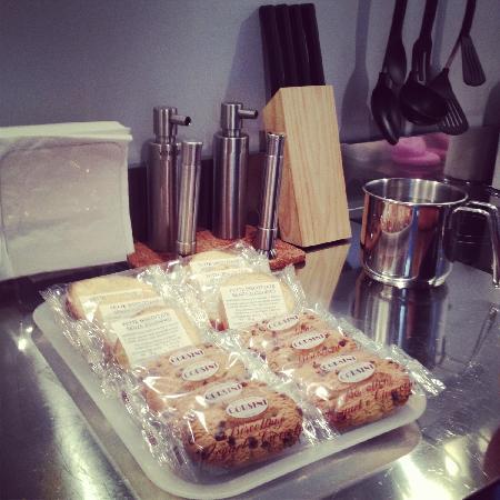 La Pieve: personal kitchen