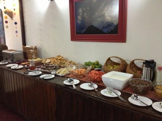Hotel Holy Himalaya : 早餐不错
