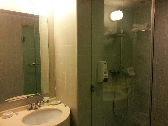 Jinjiang Inn Hefei Shuanggang: 卫生间不错啊