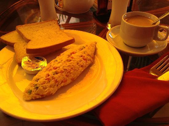 Viva Restaurant & Guesthouse : 早餐Breakfast