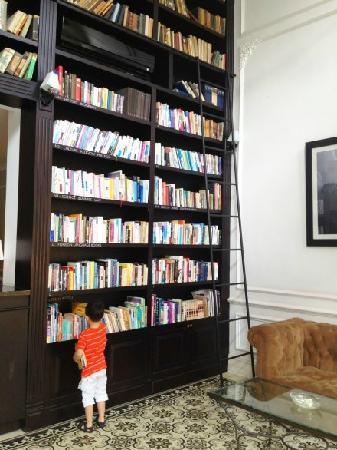 The Alcove Library Hotel: 各国语言图书