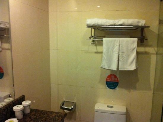 Linge Business Hotel: 浴室