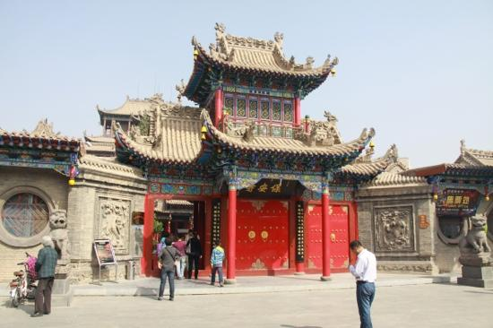 Gaomiao Temple of Zhongwei: 高庙大门