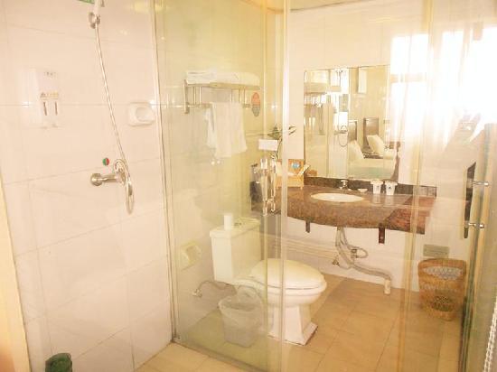 GreenTree Inn Luoyang West Zhongzhou Road Business Road) : 浴室