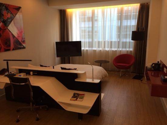 Tangram Hotel Xinyuanli Beijing: room