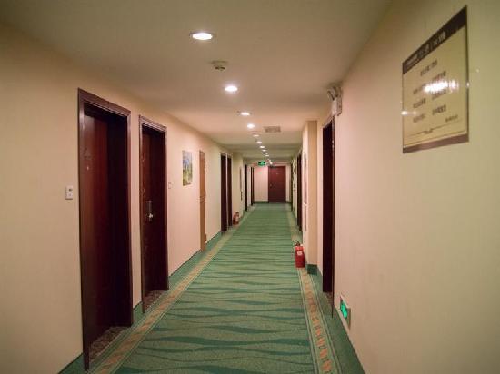 Yujiabao Hotel: 走廊