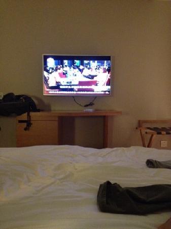 All Season Hotel Dalian Development Zone: 电视很大