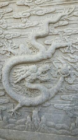 Western Qing Tombs : 雕