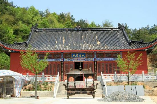 Lingshan Temple of Guangde, Anhui: b