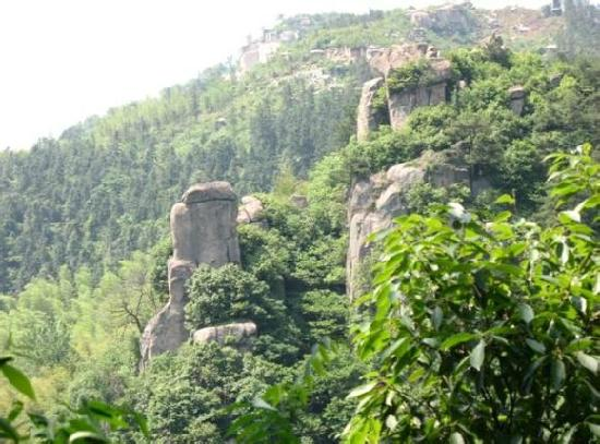 Lingshan Temple of Guangde, Anhui: e