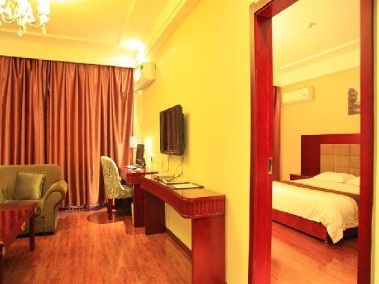 GreenTree Inn Wuwei East Beiguan Road Express Hotel: 客房