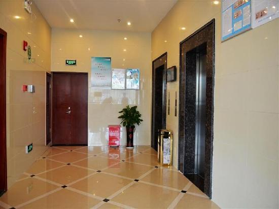 GreenTree Inn Wujiang Yunliqiao Business Hotel: 电梯间