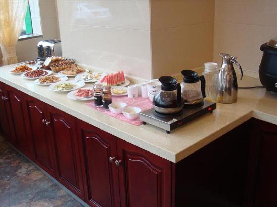 GreenTree Inn Wujiang Yunliqiao Business Hotel: 早餐