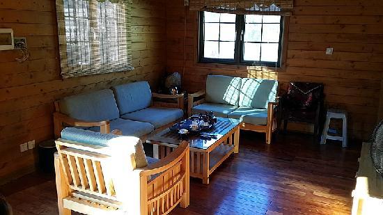 Shanhe Xiuxian Resort Mountain Villa: 客厅