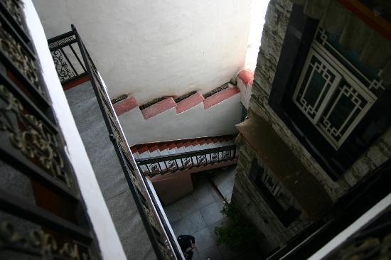 Dengba Hostel Lhasa : 院子