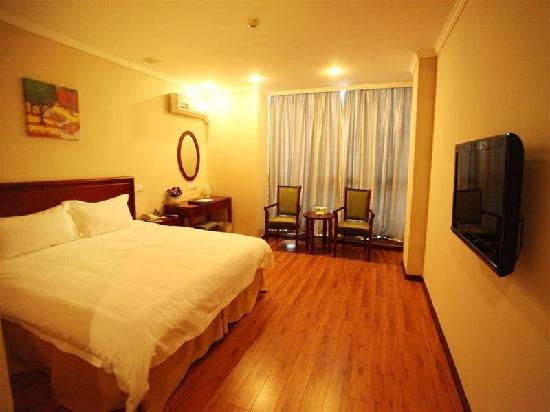 GreenTree Inn Taizhou Dongfeng Road Express Hotel : 客房