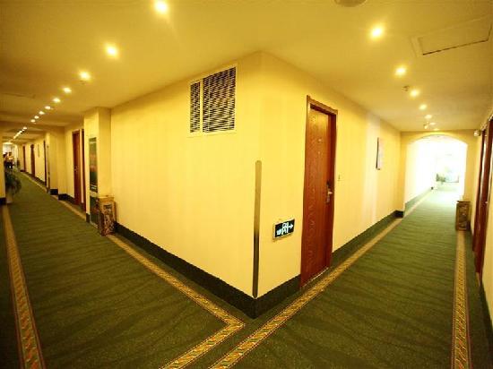 GreenTree Inn Taizhou Dongfeng Road Express Hotel : 走廊