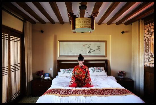 Shuhe Jinli Inn: 观景套房卧室