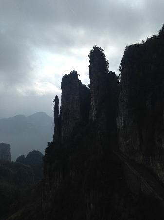 Mufu Grand Canyon : 山奇