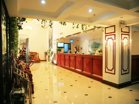 GreenTree Inn Chizhou South Changjiang Road Express Hotel: 大堂